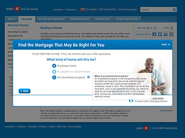 BMO-Harris Mortgage Selector