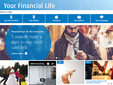 BMO Your Financial Life - Consumer website